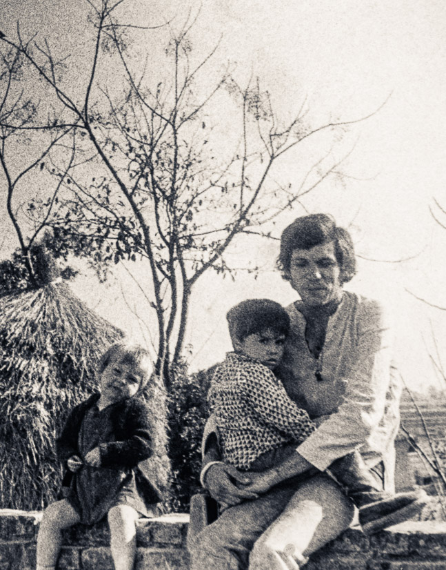 Rhea, Michael and Matti, Kopan, 1970
