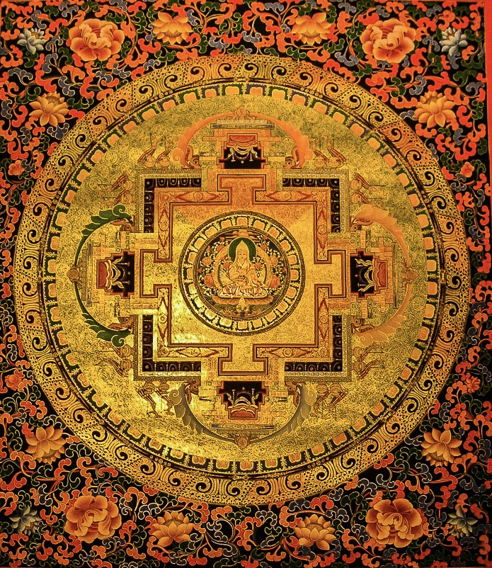Mandala of Lama Tsongkhapa.
