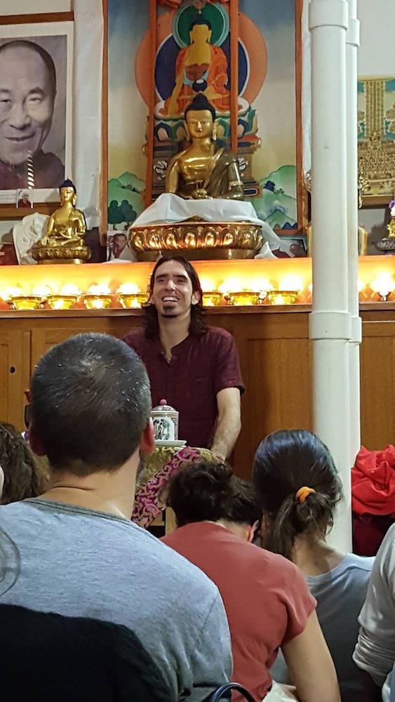 Tenzin Ösel Hitaat Kalachackra Center, Paris, 2017 (Photo Brigitte Auloy)