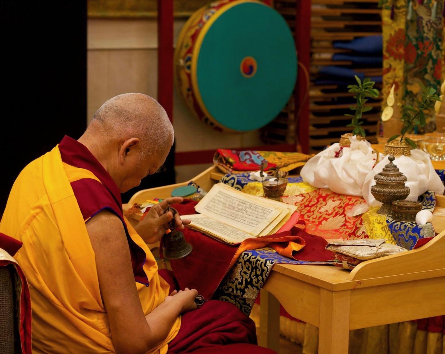 Lama Zopa Rinpoche, ABC, Singpore, 2016. (Photo Bill Kane)