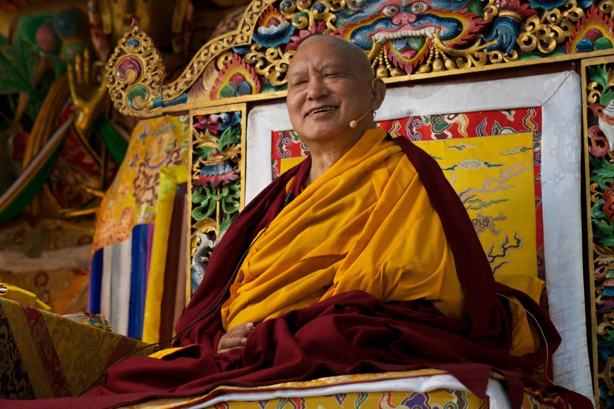 Lama Zopa Rinpoche (Photo Bill Kane)