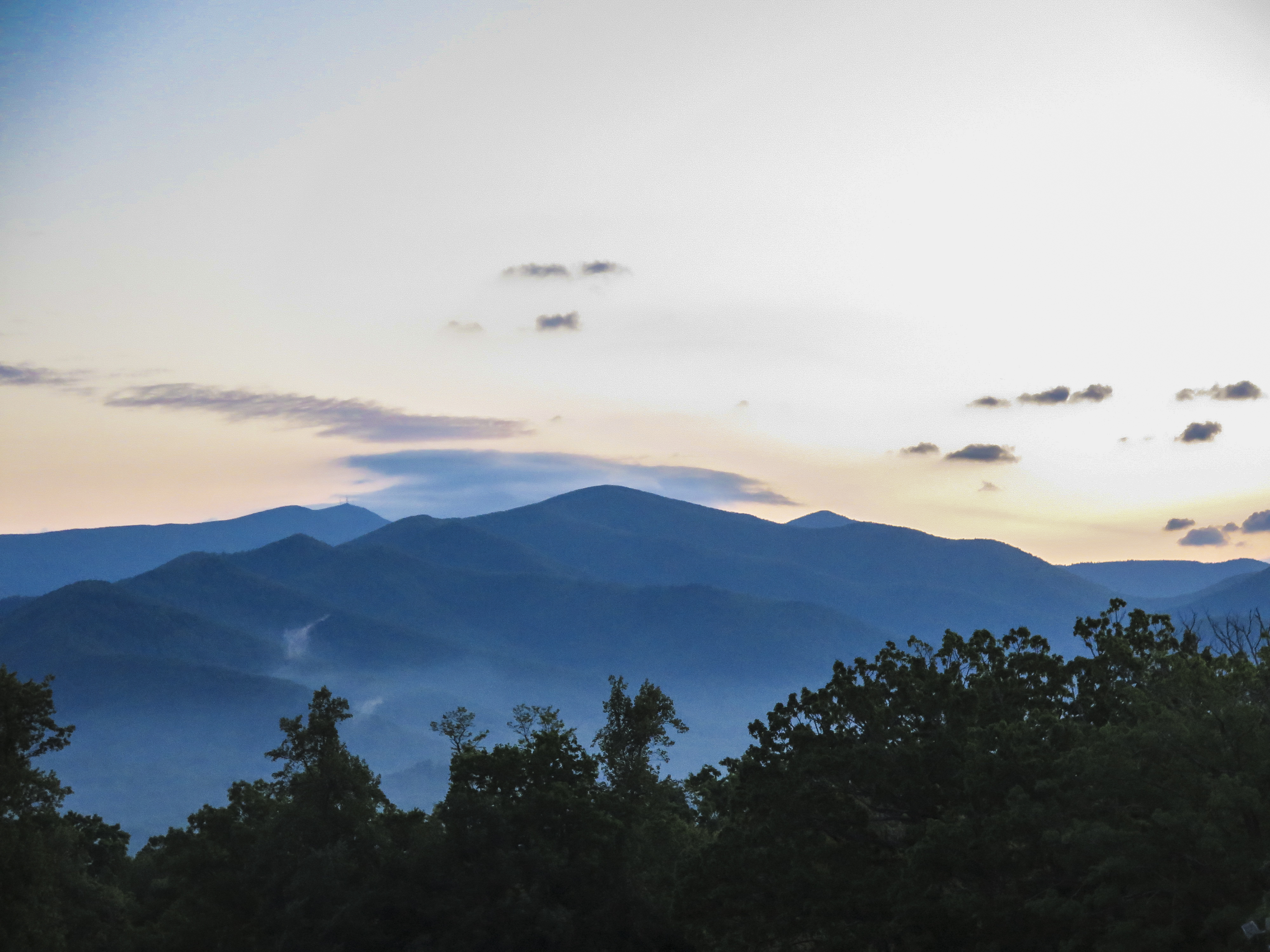 Viewfrom the Blue Ridge Assembly venue for theLight of the Path retreats. (Photographer unknown)