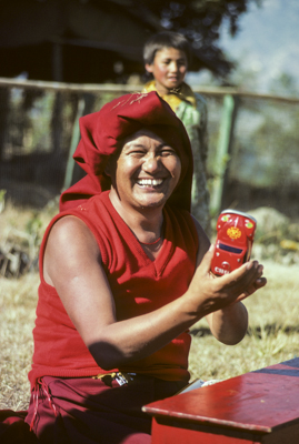 Kopan Monastery, 1976. (Photo Robin Bath)