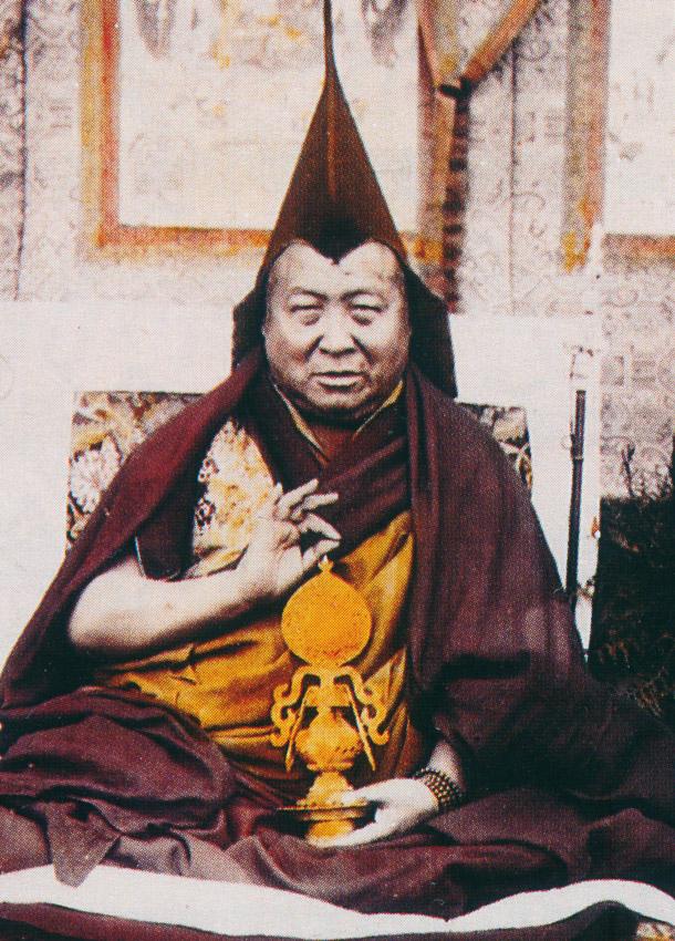 Kyabje Pabongka Rinpoche.