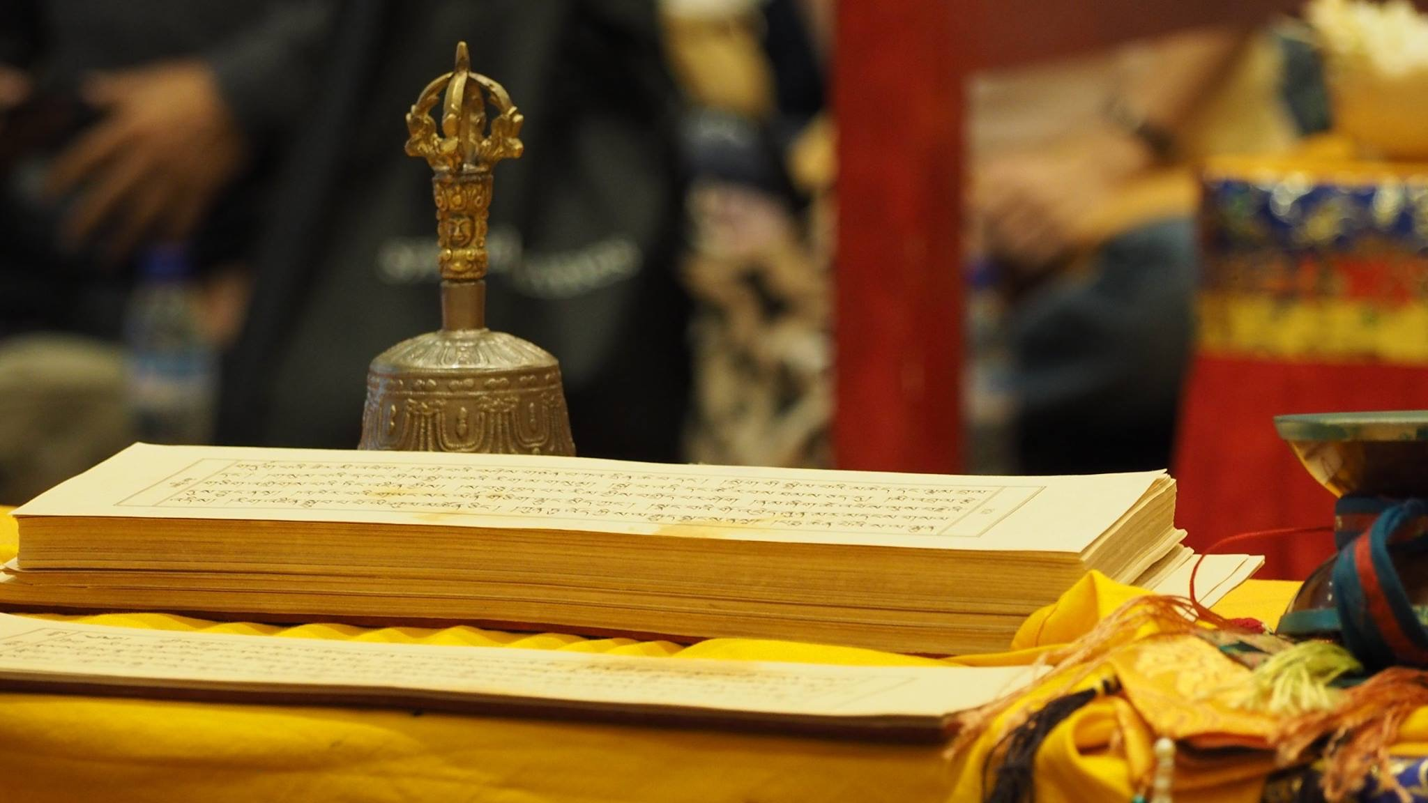Text and bell,ABC,Singpore. (Photo Ven Tenzin Tsultrim)
