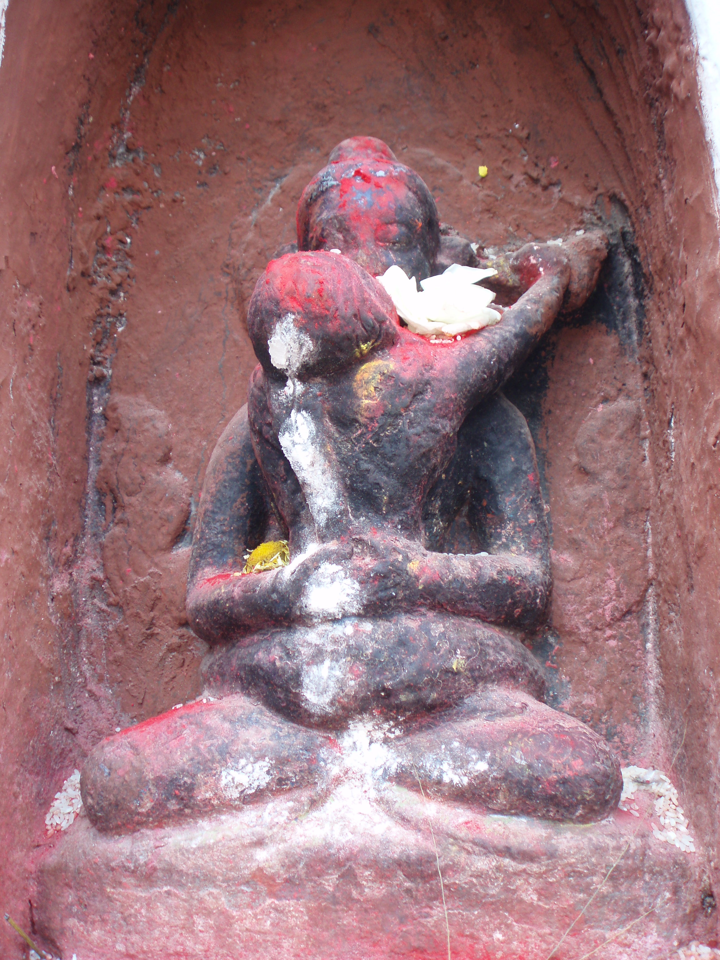 Image from Boudha Stupa, Nepal. (Photo VenSarah Thresher)