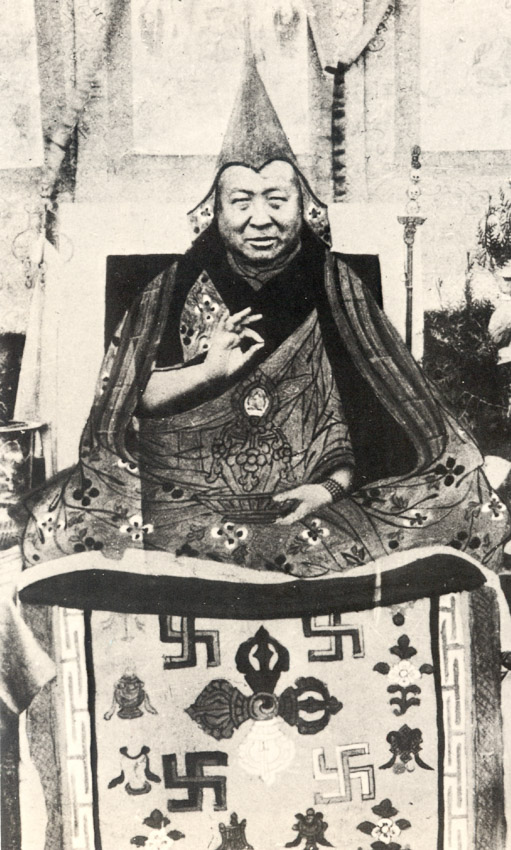Pabongka Dechen Nyingpo source of many ofthese lineages. (Photo LYWA)