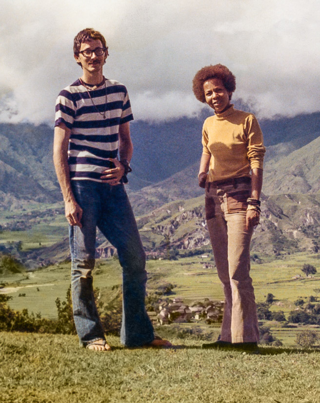 Robbie Solick and Jan Willis, Kopan, 1972