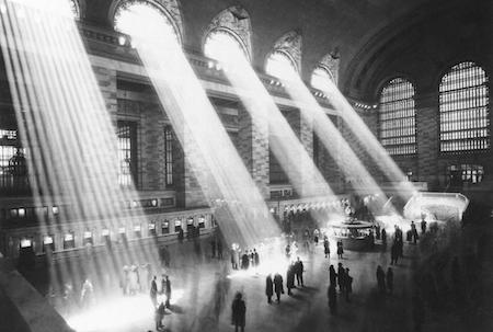 Grand Central Terminal in New York City, 1954. (AP photo)