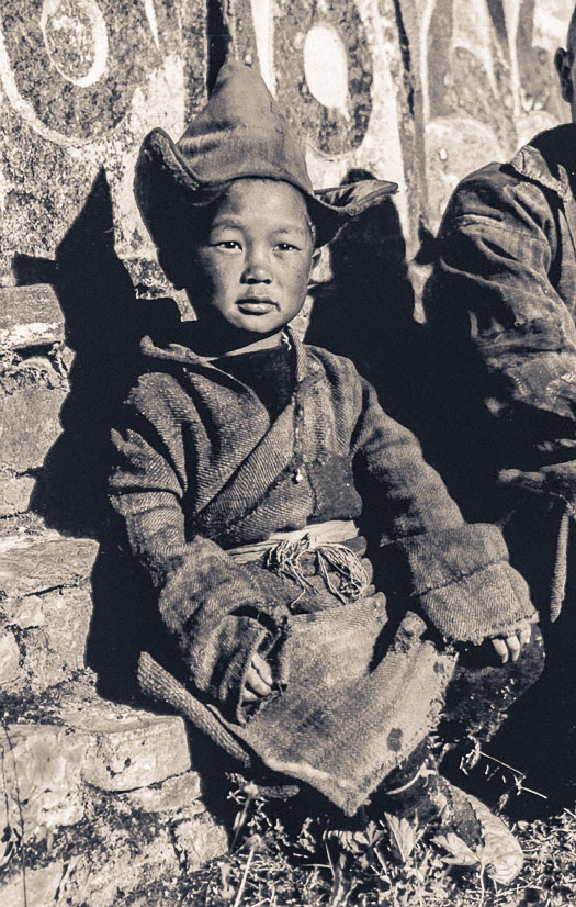 Rinpoche in Rolwaling, 1952