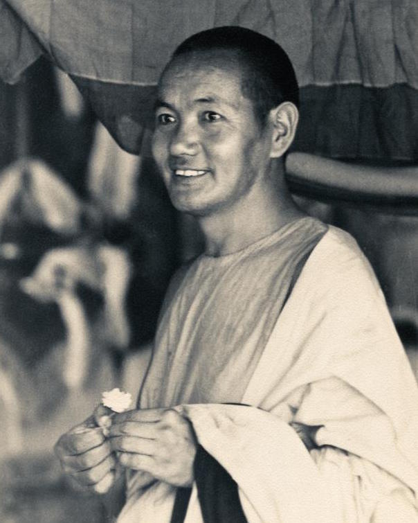 Lama Yeshe after the Sixth Meditation Course at Kopan Monastery in Nepal, 1974. (Photo by Ursula Bernis)