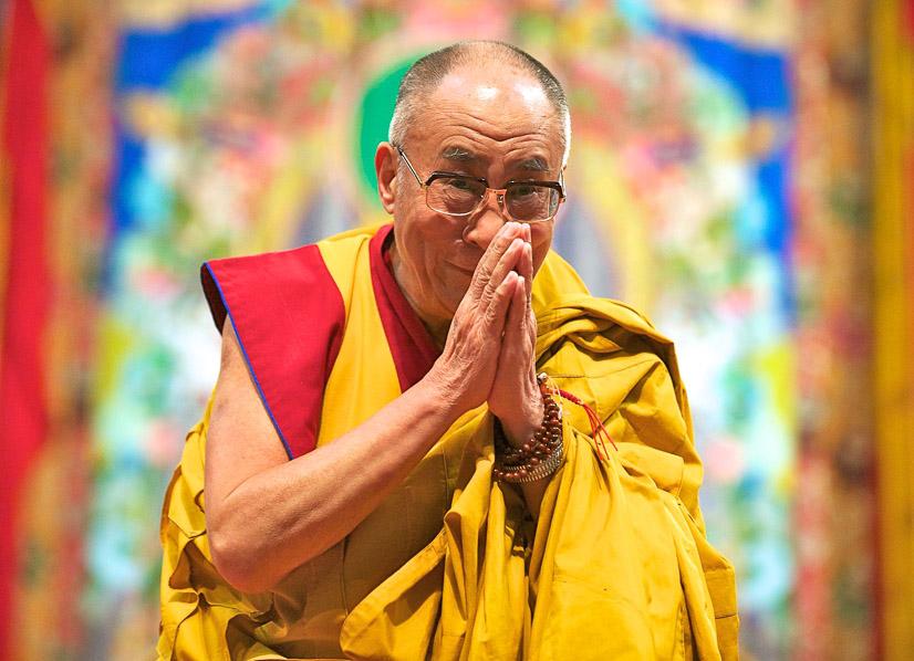 His Holiness the Dalai Lama. (Photo LYWA)