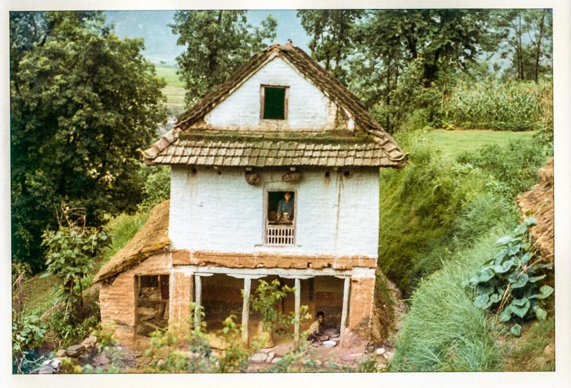 Laxman's house, 1972